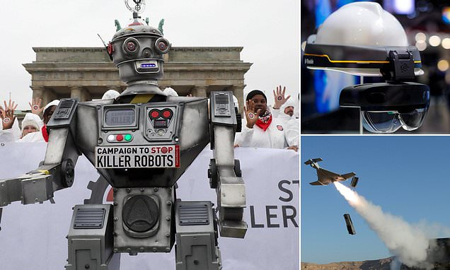 Killer ROBOTS will eliminate targets without compassion or ethical judgements if countries continue to develop autonomous weapons
