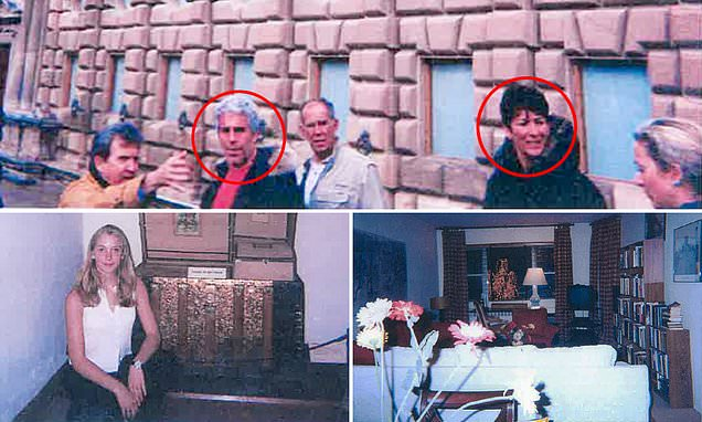 Jeffrey Epstein and Ghislaine Maxwell stroll the streets of Paris with their underage sex slave in unsealed photos
