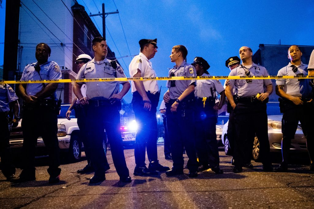 Philadelphia suspect in custody after hours-long ordeal that left 6 officers wounded