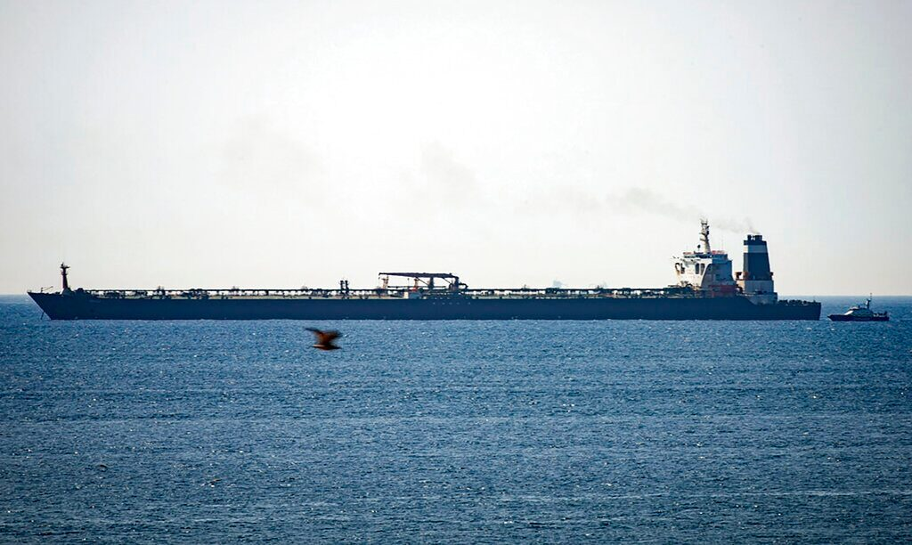 US moves to seize Iranian supertanker detained in Gibraltar