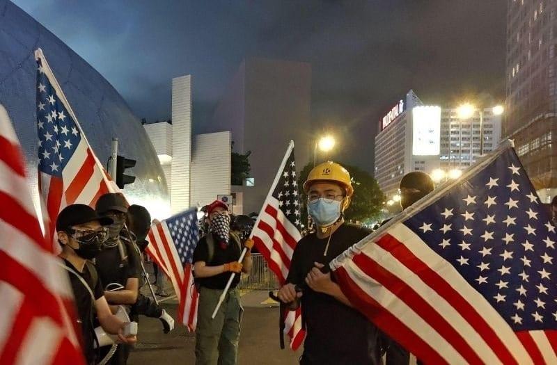 Hong Kong Reveals True Allegiance of the Far Left
