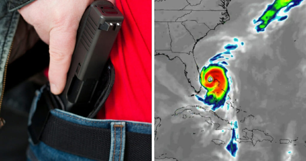 Florida Suspends Concealed Carry Requirement for People Fleeing Hurricane