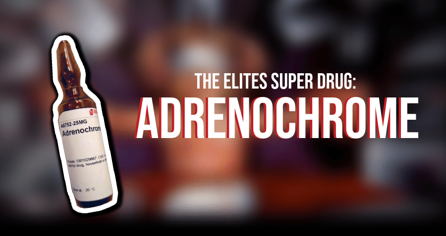 Drug Adrenochrome effects