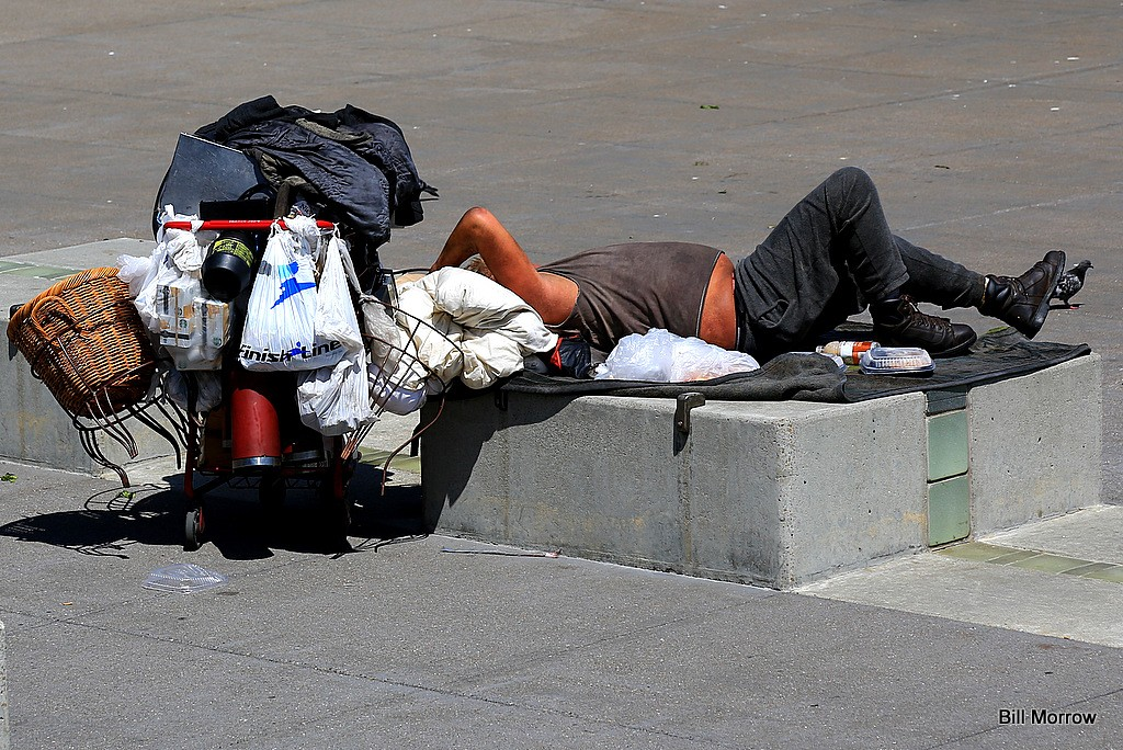 Democratic California homeless coronavirus