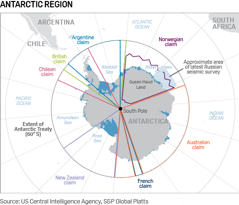 Russia China Annex Antarctica Oil