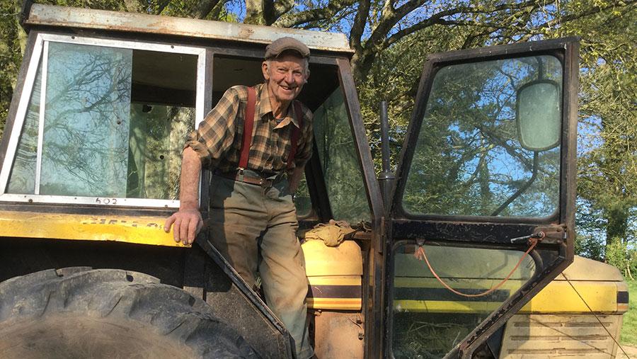 Farmer, 86, working every day to #FeedTheNation