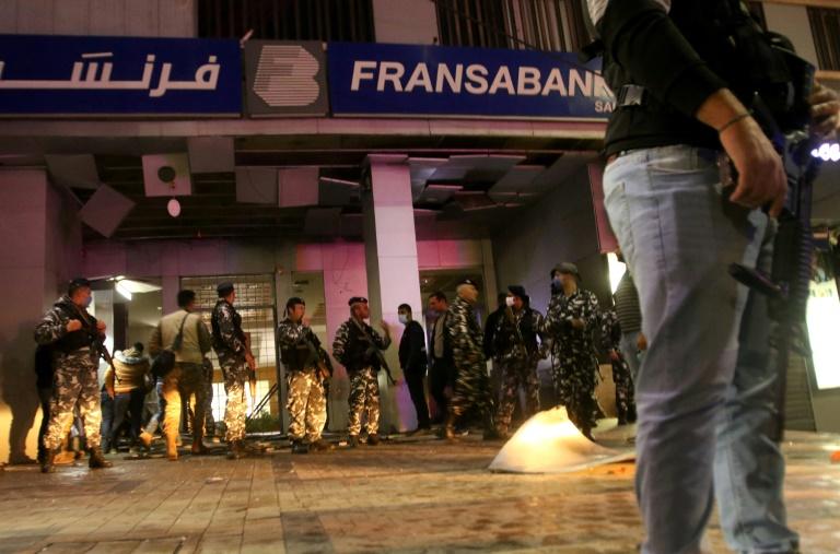 Lebanon bank attacked with explosive amid economic crisis