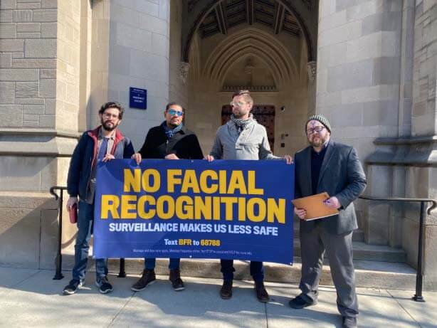 Students and activists in the U.S. lead the fight against facial recognition