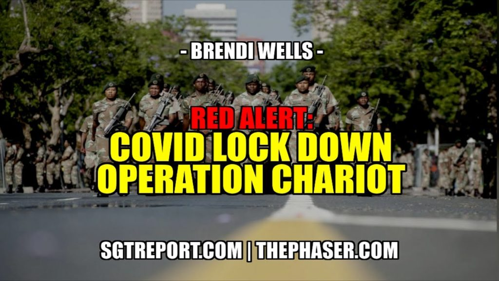 Red Alert: COVID LOCKDOWN - Operation Chariot -- Brendi Wells