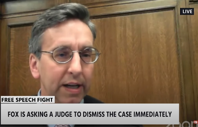 Lawsuit against Fox News for its COVID-19 coverage dismissed by Washington state judge