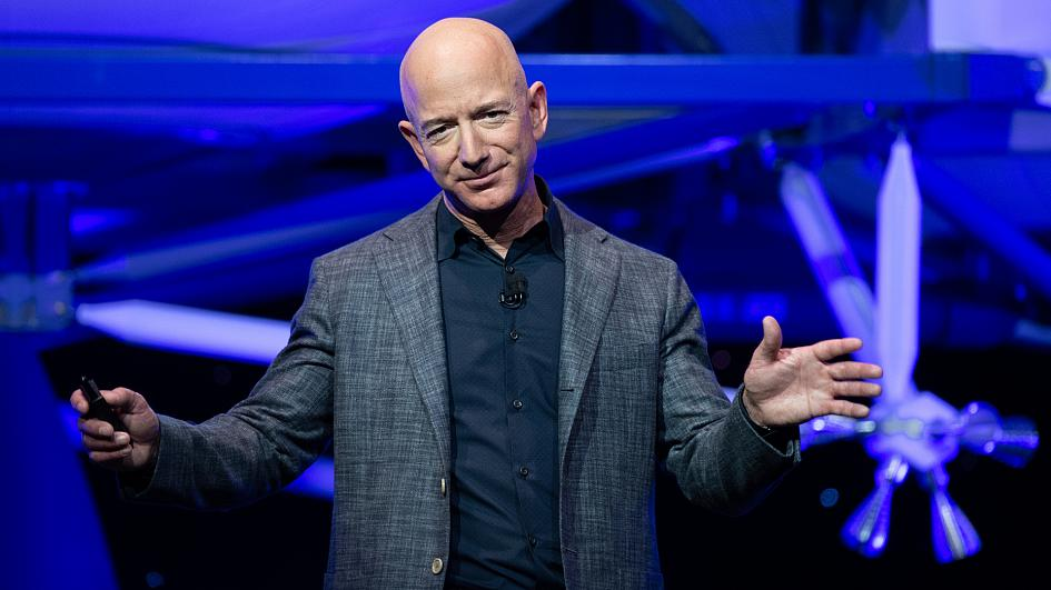 Musk and Bezos Feud Goes Electric with Amazon's Answer to Tesla