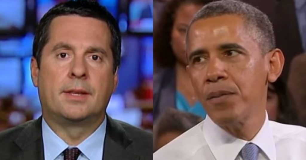 Nunes To Make 8 Criminal Referrals- All Obama Admin
