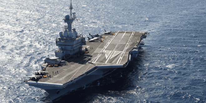 US Begins Surrounding China with Aircraft Carriers
