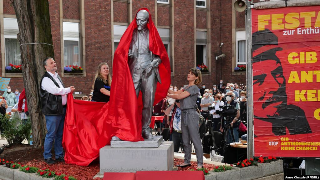 Marxists Unveil Controversial Lenin Statue In Germany