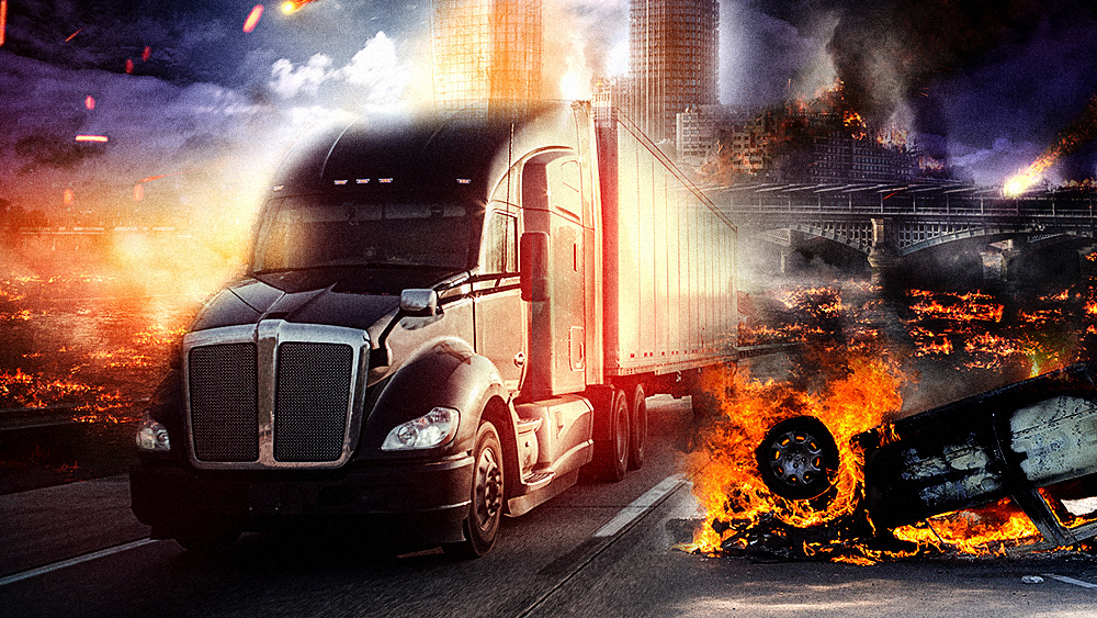 COLLAPSE of Democrat-run cities now imminent as TRUCKERS say they will refuse delivering to cities with de-funded police