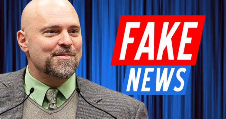 Tax-funded Fake News Weaponized Against Lone Conservative Professor