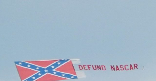 Plane with 'Defund NASCAR,' Confederate Flag Banner Flies Above Talladega Superspeedway