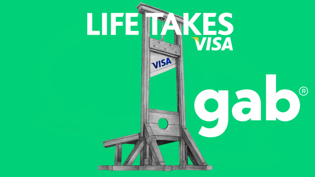 Social Credit Score Is In America: Visa Blacklisted My Business and My Family for Building Gab