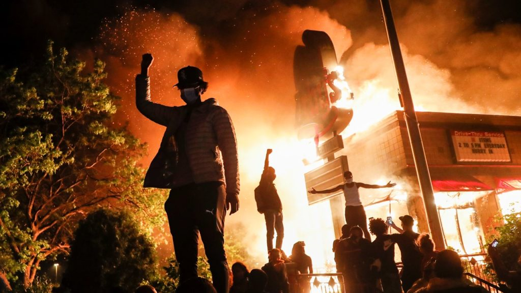 The One Thing Riots Across the U.S. Have In Common – and It's Not Black Lives Matter