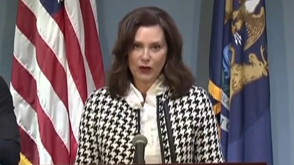Michigan Gov. Gretchen Whitmer lifts state's stay-at-home order
