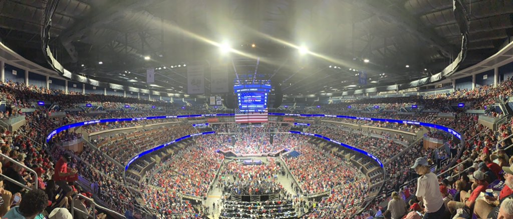 'Biggest Rally Signup of All Time by 10X' – More Than ONE MILLION People Sign Up For Trump's MAGA Rally in Tulsa, Oklahoma –UPDATED