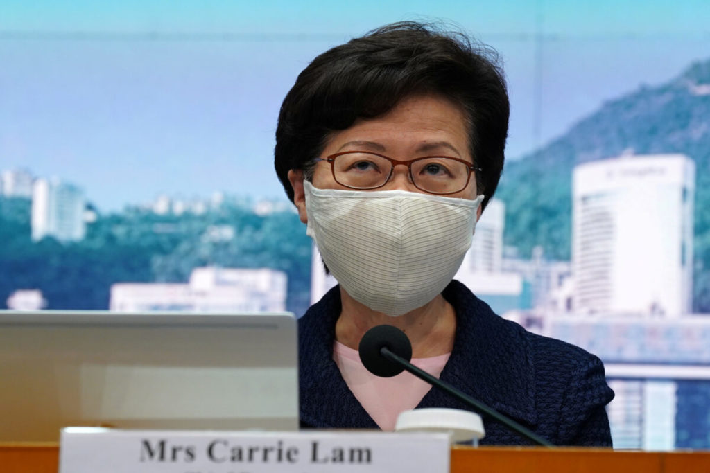Hong Kong Chief Executive