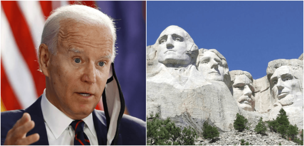 DNC Claims July 4th Celebration, Mount Rushmore 'Glorify White Supremacy'