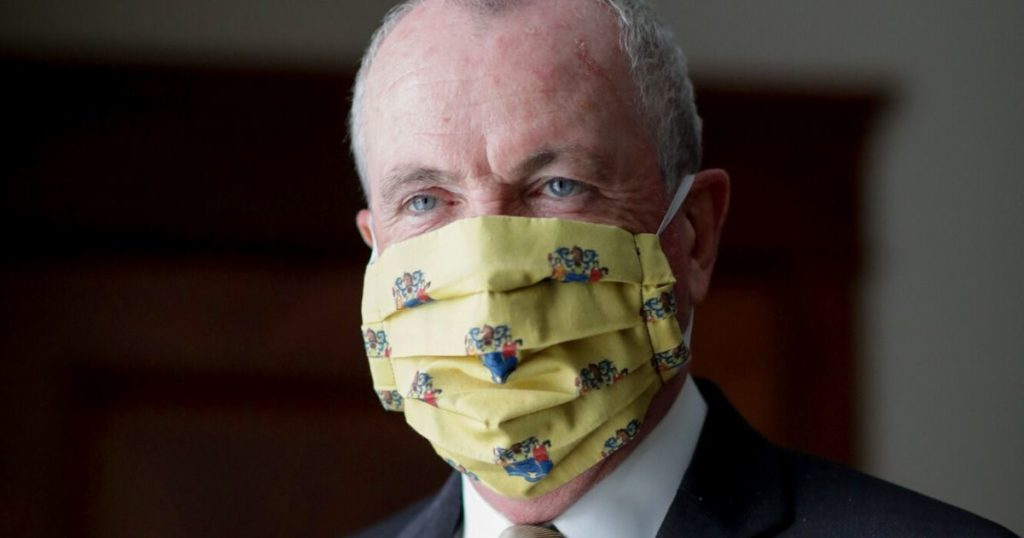 New Jersey Gov Mandates Masks Outdoors