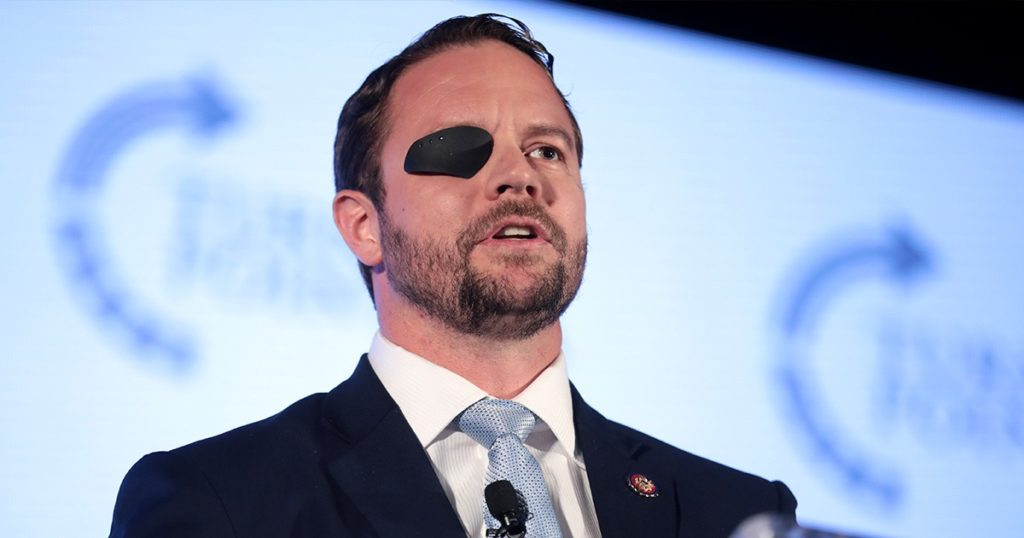 Dan Crenshaw Joins Democrats in Vote to Remove Statues, Says Confederate History is 'Their History'