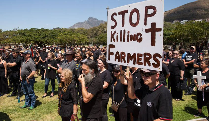 7 farm attacks in South Africa within 24hrs raises concern