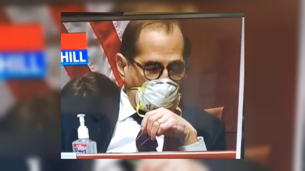 Jerry Nadler fell asleep during William Barr congressional hearing