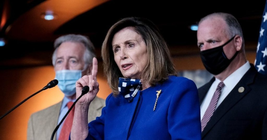 Pelosi Has Hostile Confrontation with Reporter, Starts Yelling 'No, No, No'