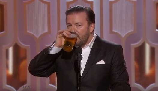 "Ricky Gervais SLAMS Liberals' ""Cancel Culture,"" says it is a ""new form of fascism"""