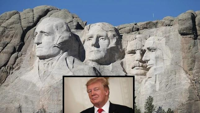 Trump Visits Mount Rushmore For 1st Fireworks In Decade As Cancel Mob Hones In