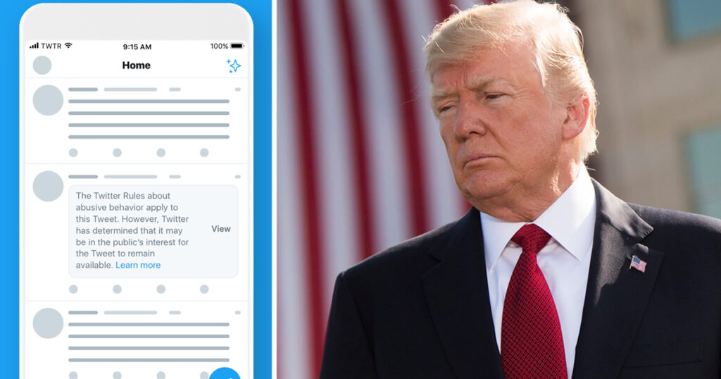 Twitter Places a Warning on Donald Trump Tweet about the Dangers of Mail-in Voting