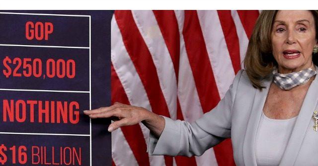 Rank-and-File Democrats Revolting Against Nancy Pelosi over Coronavirus Aid