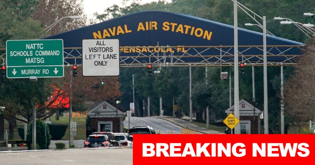 BREAKING: Naval Air Station Pensacola On Lockdown After Bomb Threat