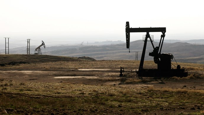 Syria oil gas fields