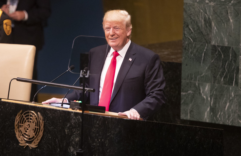 "President Trump Tells UN: We're Committed to ""Protecting Unborn Children"" From Abortion"