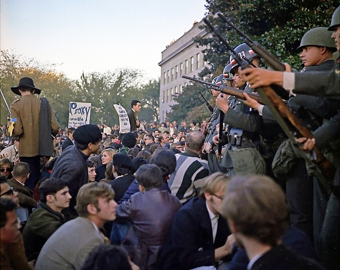 Roots of today's revolutionaries: The 1967 Pentagon March