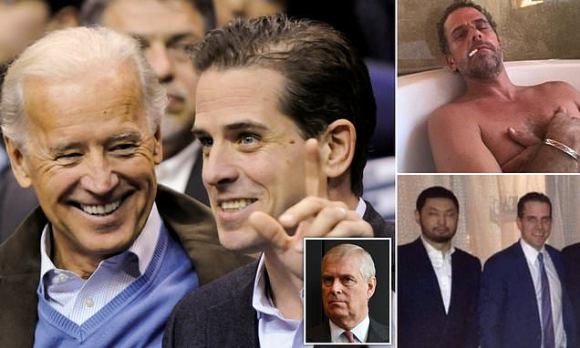 Prince Andrew, the oligarchs and a new bombshell for Joe Biden: America's convulsed over pictures of the former vice president's son. But as GUY ADAMS uncovers his links to a suspect regime (and the Duke of York) just how much damage can he cause?