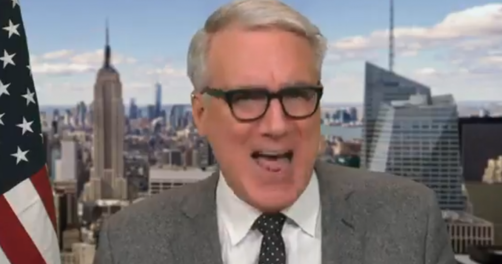 "SICK: Keith Olbermann Calls for President Trump to Receive ""Death Penalty"""