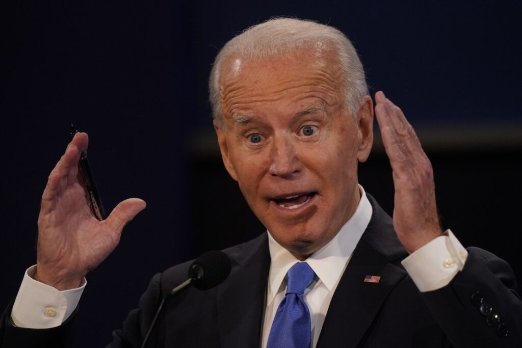 Joe's Freudian Sniff? Joe Biden Just Said He's Got a Great 'VOTER FRAUD Organization' Going
