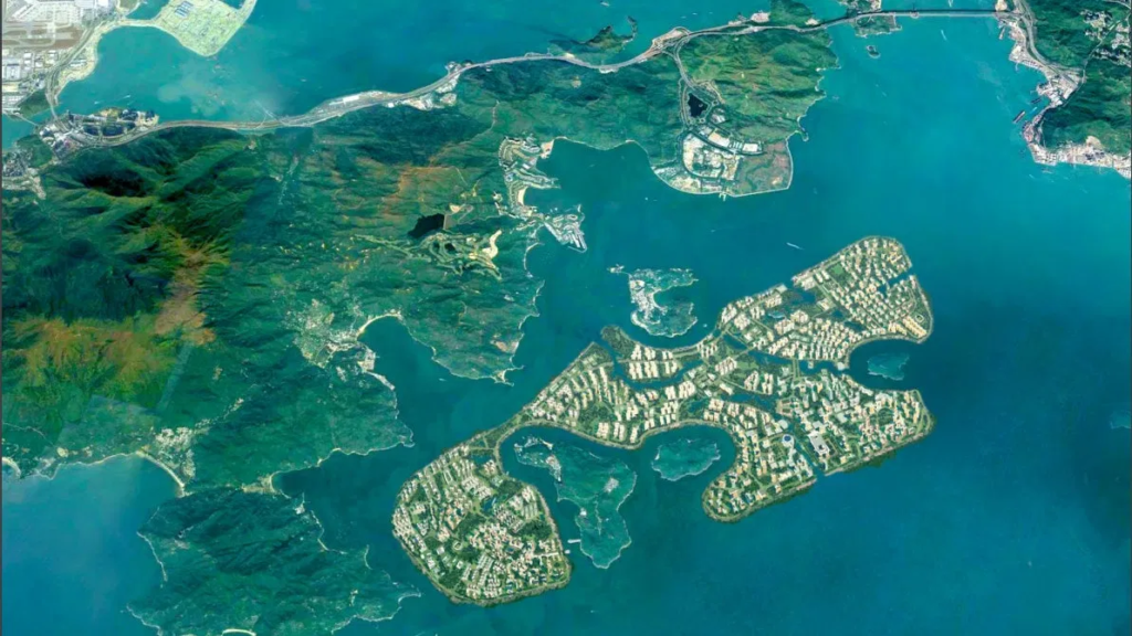 Beijing floats plan for man-made Hong Kong island