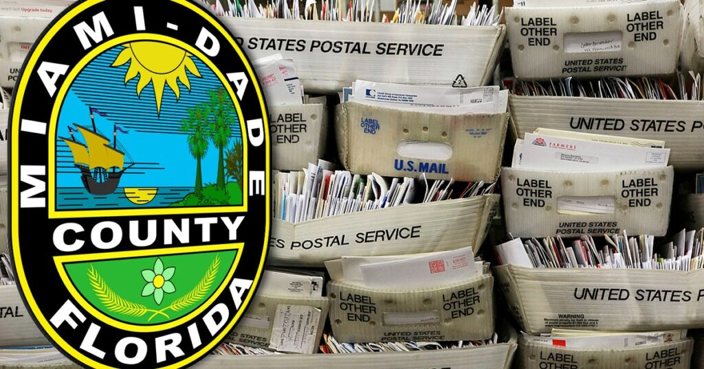Undelivered Mail-In, Absentee Ballots Found at Miami-Dade USPS Facility