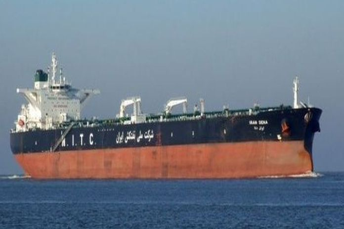 Iran crude Oil Tanker