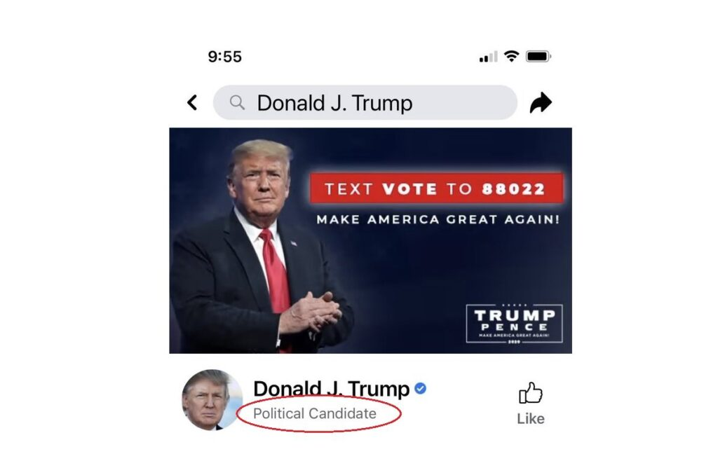 "OUTRAGEOUS! Facebook Spits in America's Face — Removes ""President"" From Donald Trump's Page and Posts ""Political Candidate"""