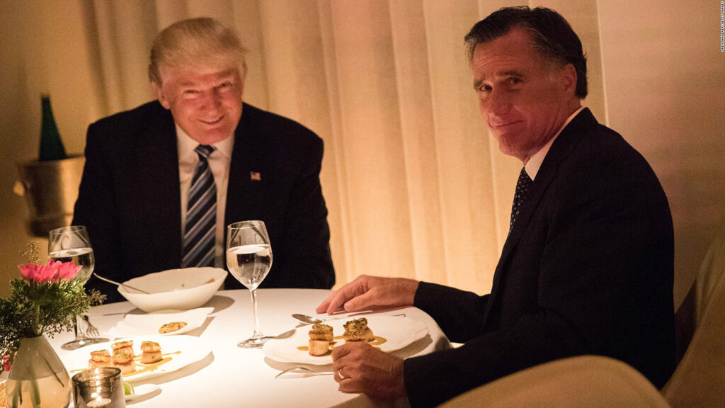 Mitt Romney Is A Backstabbing Traitor