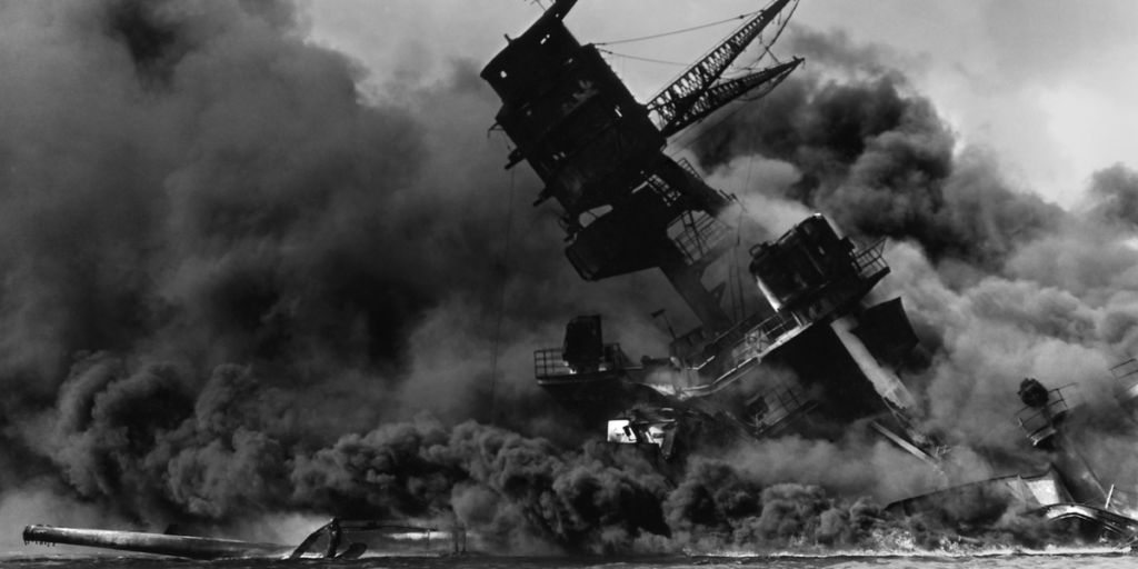 "Remembering Pearl Harbor ""December 7, 1941 — a date which will live in infamy."""