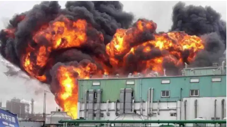 Unexplained explosion and fire destroy world's second largest pharmaceutical factory producing precursors for hydroxychloroquine
